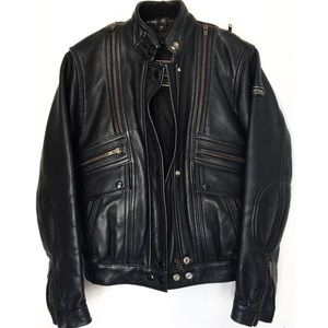 Hein Gericke Leather insulated Motorcycle Jacket